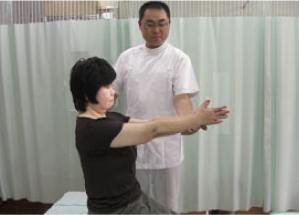 体を動かして、最初の状態よりも改善されているか確認します。
